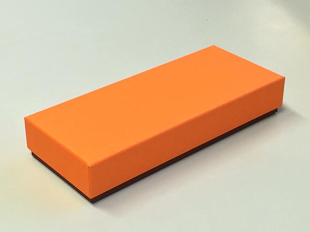 【数量限定】フェザーケース オレンジ 10仕切