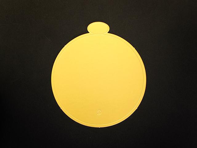 ゴールド台紙 5号用 (25枚入)