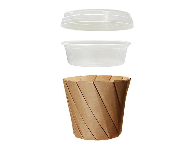 おりがみカップ 大 茶 (400枚入)