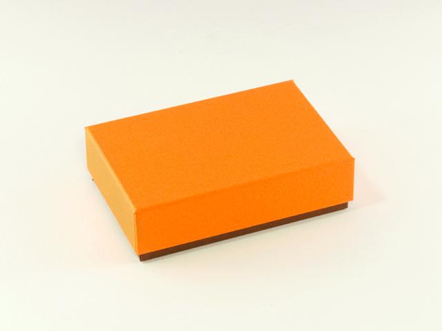 フェザーケース オレンジ 6仕切 (1個/5個)