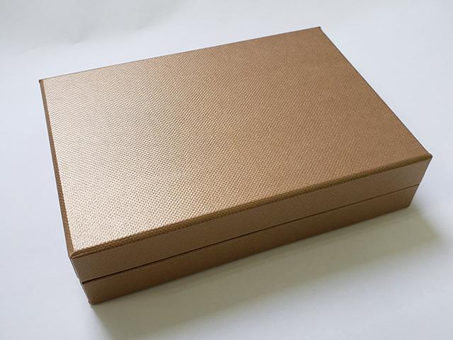 コンビBケース メタルゴールド 6仕切