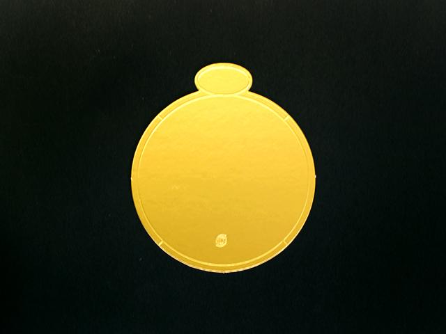 ゴールド台紙 4号用 (50枚入)