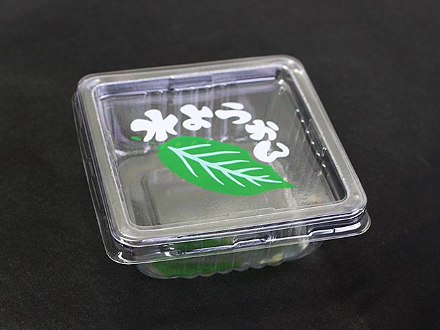 角型水ようかん 本体フタセット (100個入)
