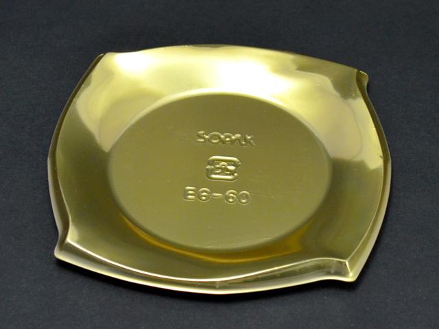 ケーキトレー EG-60 ゴールド (100枚入)