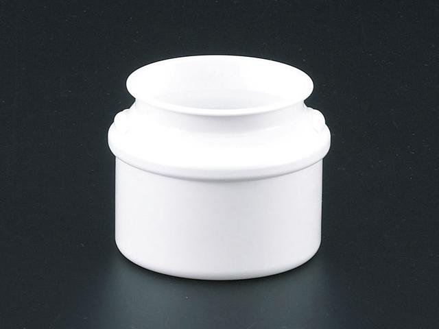 JK-BLOW ミルク缶 PP 白 (12個入)