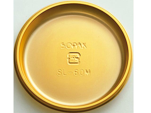 ケーキトレー SL-60M ゴールド(100枚入)