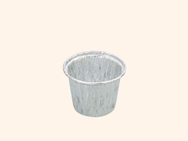 アルミ容器 丸深型(ふち巻き) 407(100枚入)