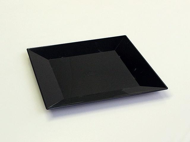 ニシキ 角皿(20) 黒 (20枚/240枚入)