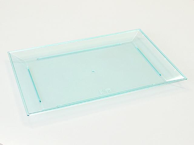 ニシキ 角皿(大) スカイブルー (10枚入)