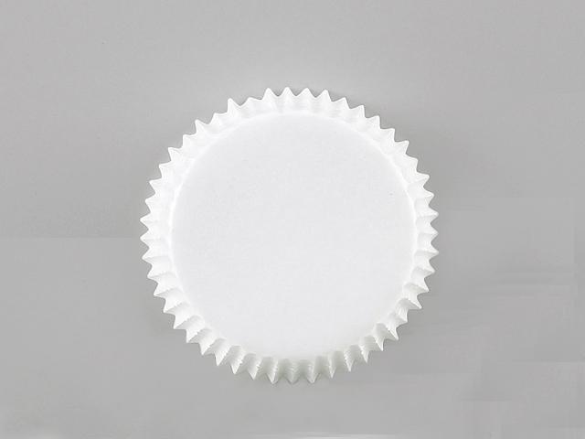 純白ペット 白無地 60φ×20H (500枚入)