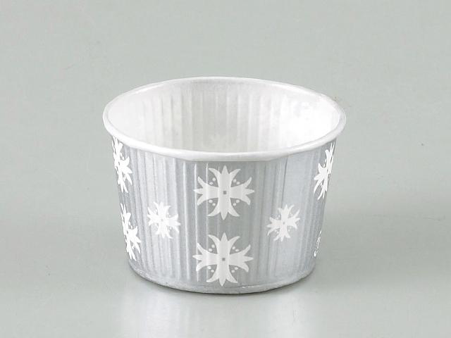 プリーツカップ 43F 銀 (100枚入)