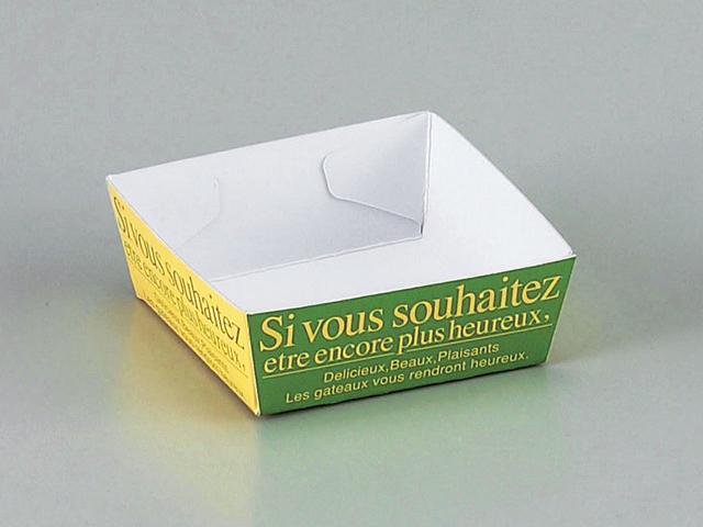 クォリティートレー 65×65 緑 (50枚入)