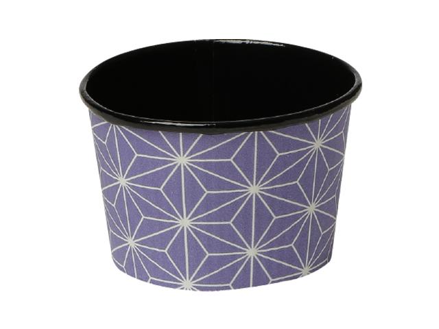 プリーツカップ 43F 麻の葉 紫 (100枚入)
