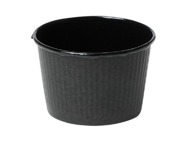 プリーツカップ 43F 黒 (100枚入)