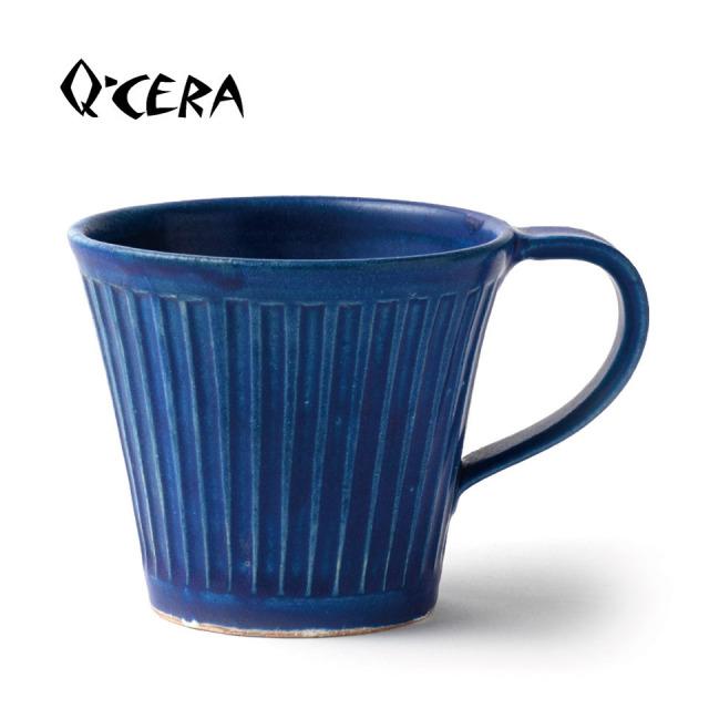瑠璃マグカップ【Q-CERA(丸田博人)】