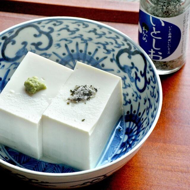 糸島の乾物 海藻 藻塩 いとしお -わかめ-【山下商店】