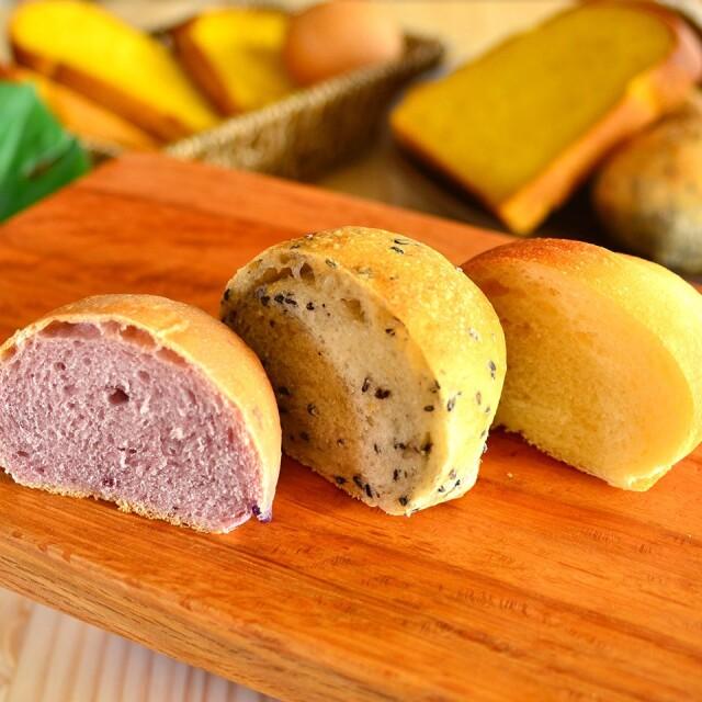 身体がよろこぶパンセット & オリジナルパンナイフ付き(卵・乳製品不使用)【天然パン工房楽楽】