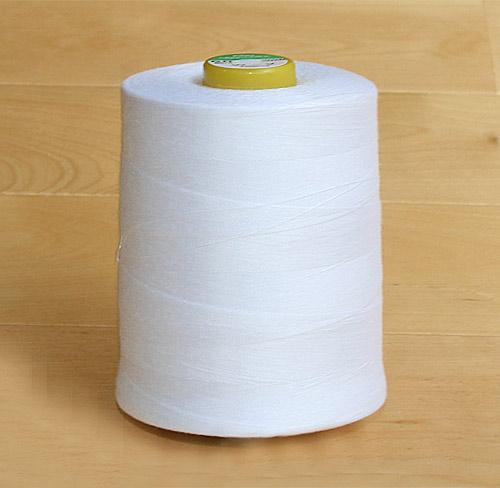 スパン糸 60番1万m 白