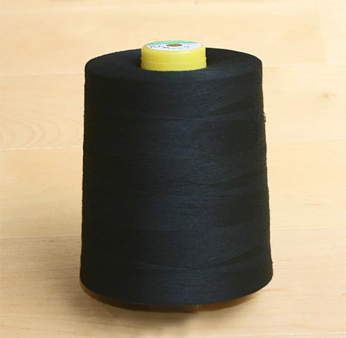 スパン糸 60番1万m 黒