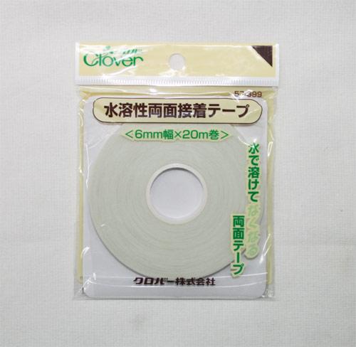 水溶性両面接着テープ 6mm×20m (クロバー)