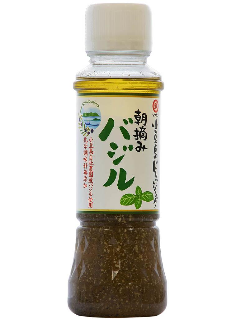 3082 小豆島ドレッシング 朝摘みバジル 200ml
