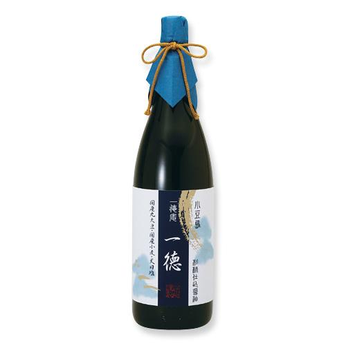 0001-4 杉桶仕込醤油 一徳(1,800ml)