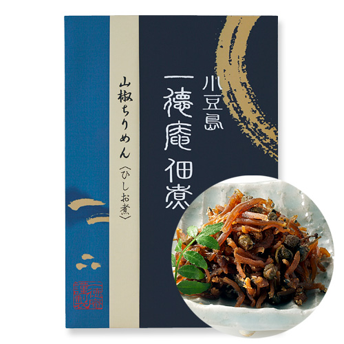 0350-1 山椒ちりめん ひしお煮(袋入り)(120g)