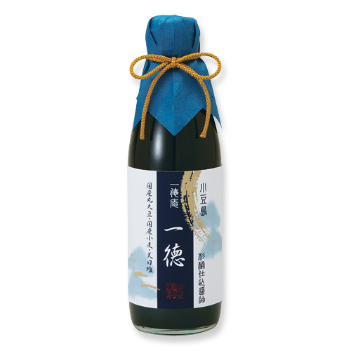 0001-2 杉桶仕込醤油 一徳(360ml)