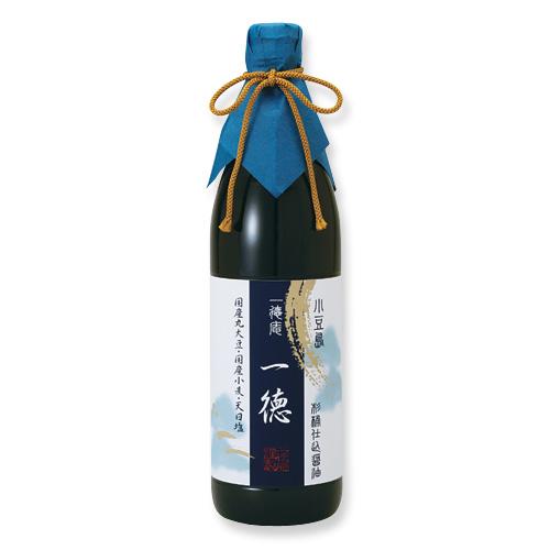 0001-3 杉桶仕込醤油 一徳(900ml)