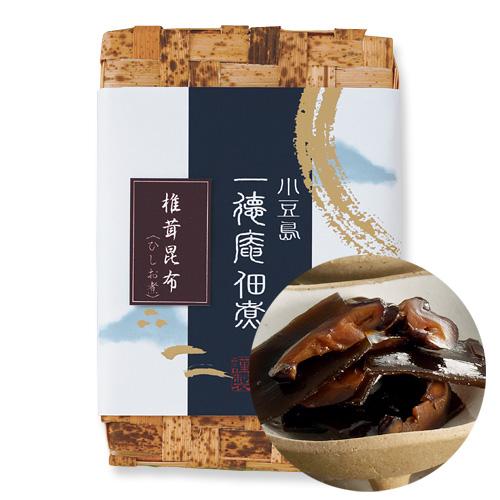 0302-2 椎茸昆布 ひしお煮(竹かご入り)260g(130g×2)