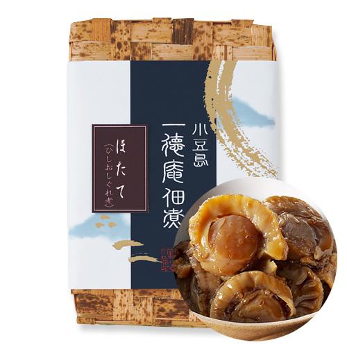 0333-2 ほたて ひしおしぐれ煮(竹かご入り)360g(180g×2)