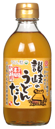 3064 讃岐うどんだし かけ用(300ml)