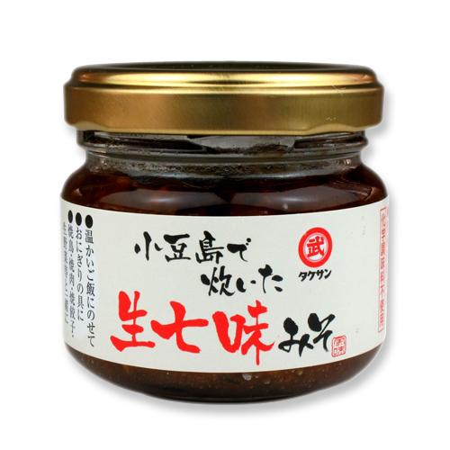 6009 小豆島で炊いた生七味みそ(80g)