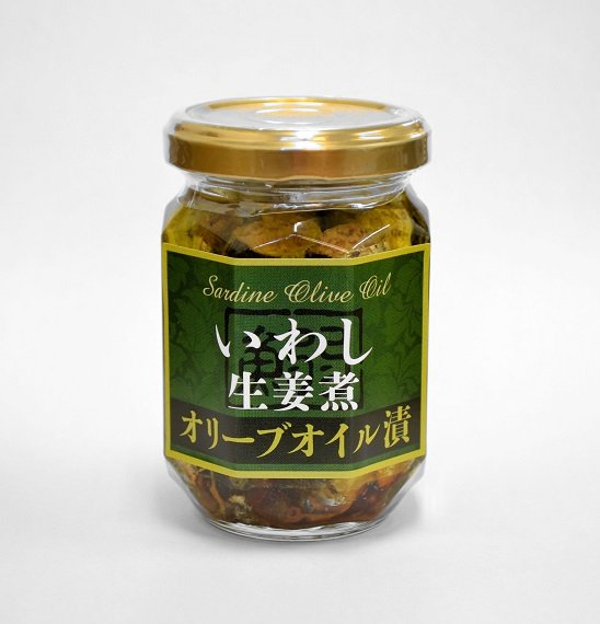 6342 いわし生姜煮オリーブオイル漬(130g)