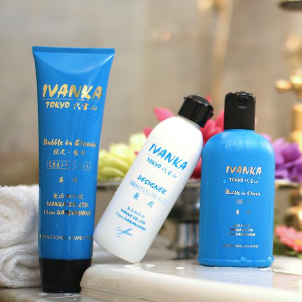 IVANKA全ての髪質用クラシックシャンプー300mlクラシックセット-de