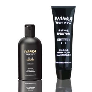 【定期購入】IVANKAイヴリントンシャンプー全ての髪質用300mlセット