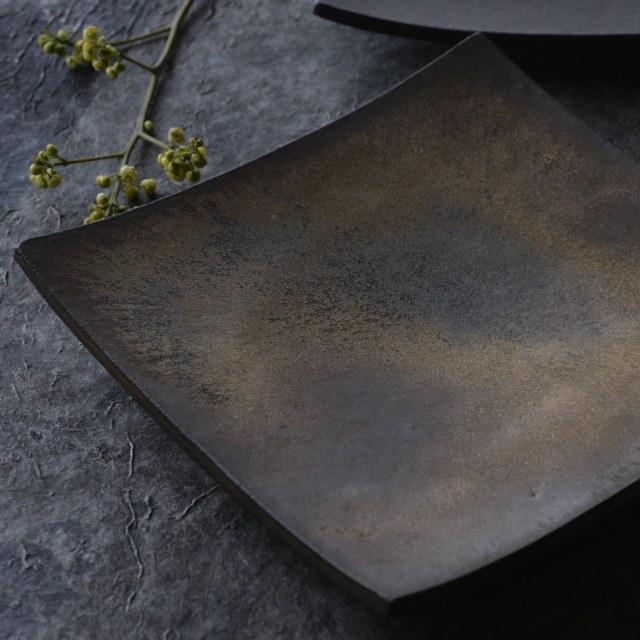 橋本忍 赤鋼(akagane)正角鉢