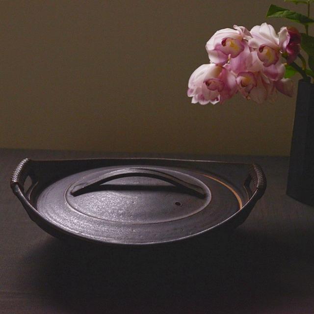 橋本忍 鉄黒 耐熱土鍋