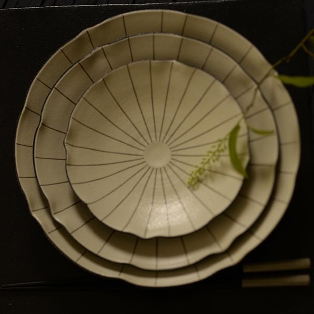 奥田章 蓮華皿