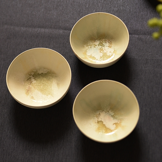 紫蓮 Spring bowl(陶器)