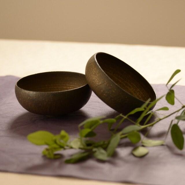 水野幸一 銅彩釉 小鉢