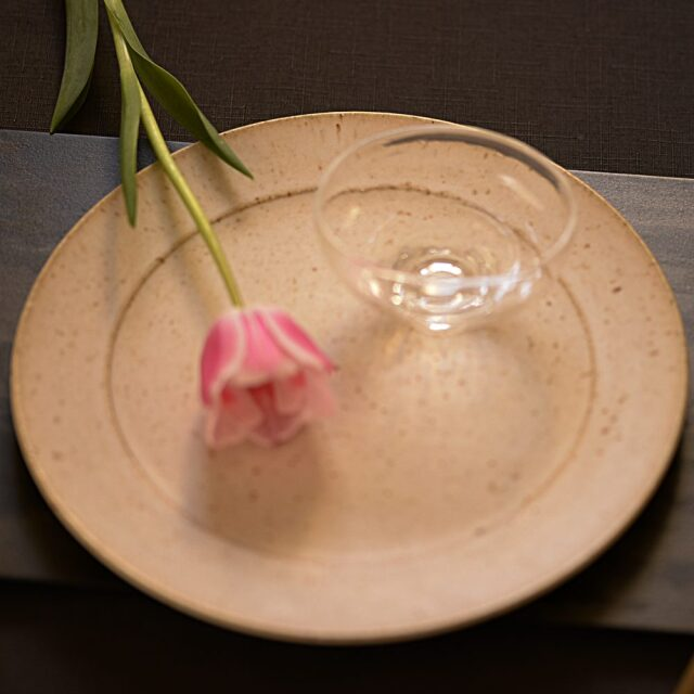 岩山陽平 マーブル リム皿