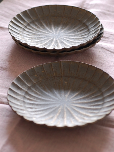 水野幸一 銅彩モール鉢