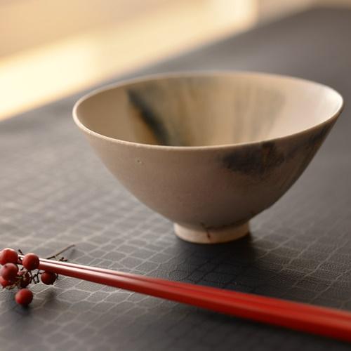 徳山久見子 monet藍 飯碗