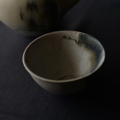 徳山久見子 monet藍 湯飲み 小