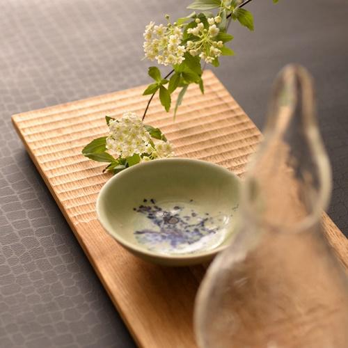 紫蓮 monet 盃(豆皿)