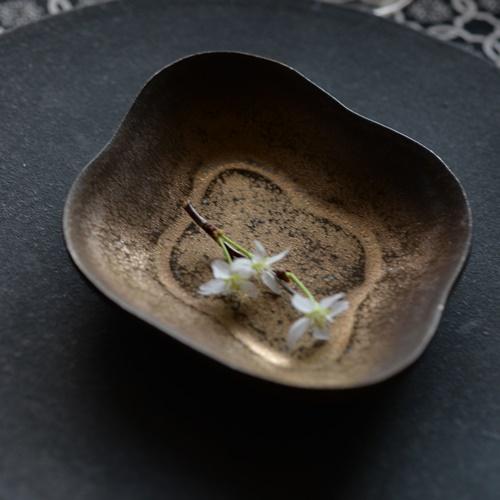 橋本尚美 菱型小皿 YUFU