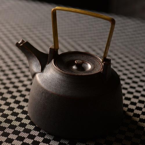 橋本忍 鉄黒 耐熱土瓶