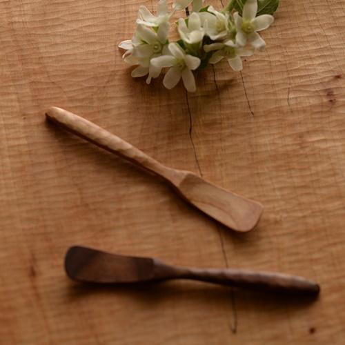 大澤真琴 天然木 薬味スプーン