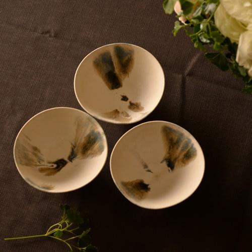 紫蓮 monet藍 飯碗
